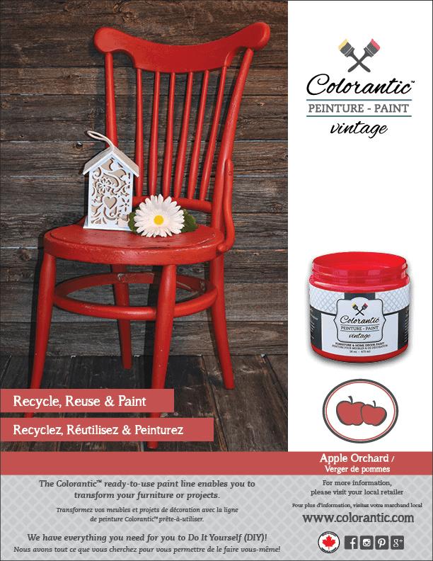 PUB Peinture à la craie Verger de pommes - Chalk-Based Paint Apple Orchard | Peinture à la craie Colorantic | Chalk-Based Paint Colorantic