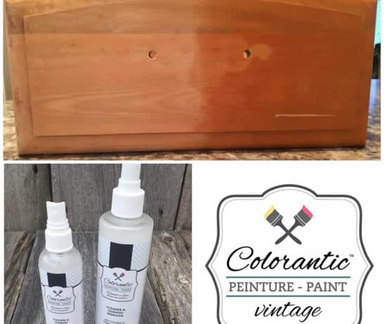 Démaquillant à vernis - Vanish remover | Peinture à la craie Colorantic | Chalk-Based Paint Colorantic