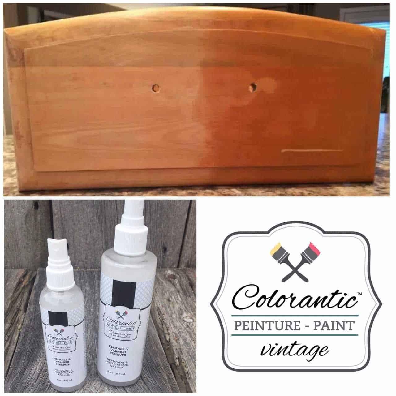 Démaquillant à vernis - Vanish remover | Peinture à la craie Colorantic | Chalk-Based Paint Colorantic