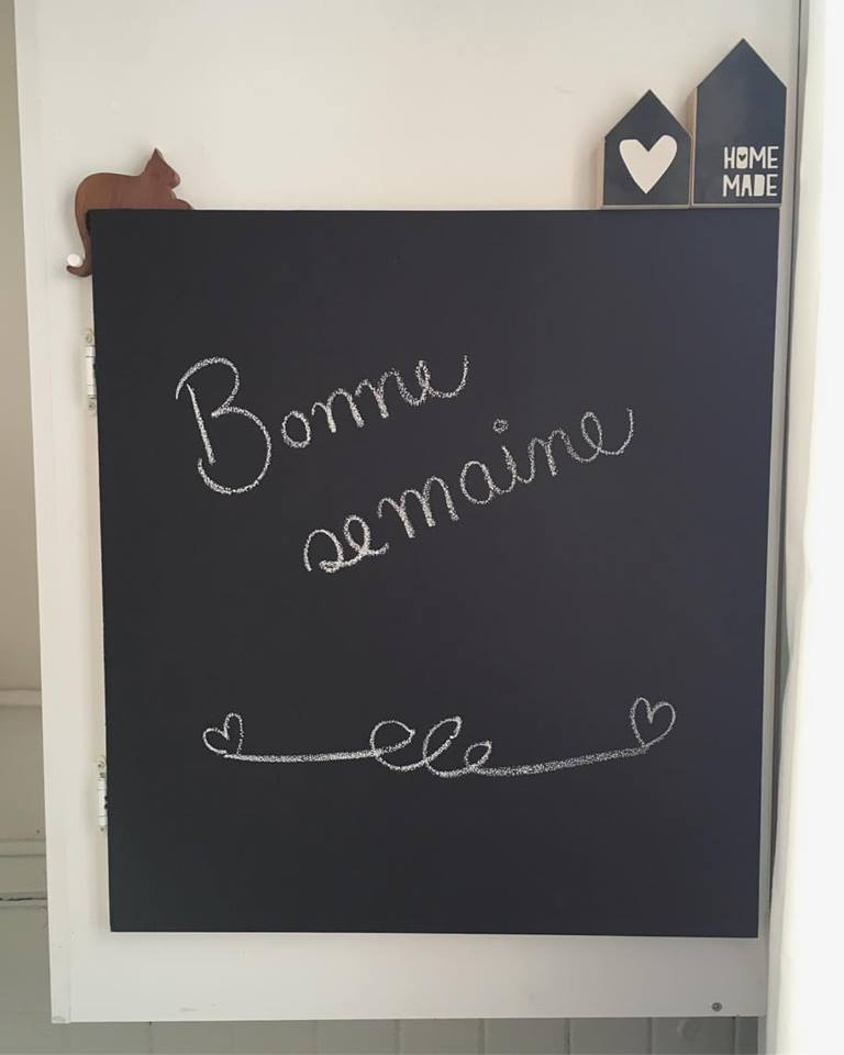 Colorantic isn't only for furniture; our paint can also used for chalkboards!