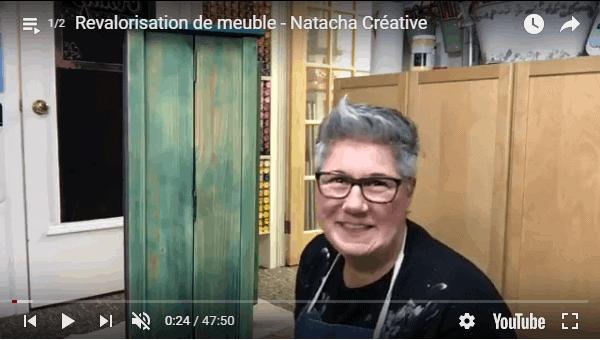Revalorisation de meuble par Natacha Créative