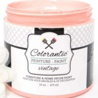 Peinture a la craie Pamplemousse - Chalk Based Paint Grapefruit