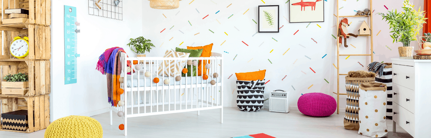 How to paint a Baby Crib safely with Colorantic