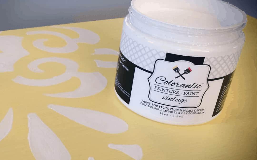 Peinturer une commode Tarte au citron